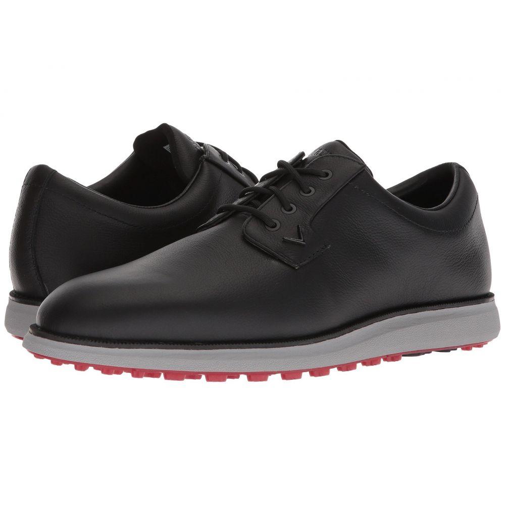 キャロウェイ メンズ ゴルフ シューズ・靴【Swami 2.0】Black/Red