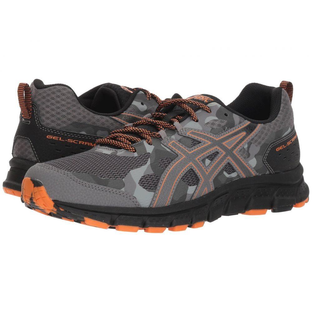 アシックス メンズ ランニング・ウォーキング シューズ・靴【GEL-Scram 4】Carbon/Lava Orange