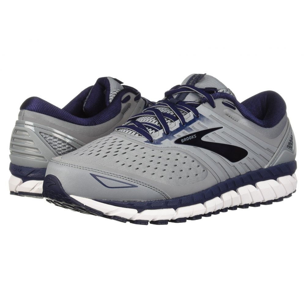 ブルックス メンズ ランニング・ウォーキング シューズ・靴【Beast '18】Grey/Navy/White