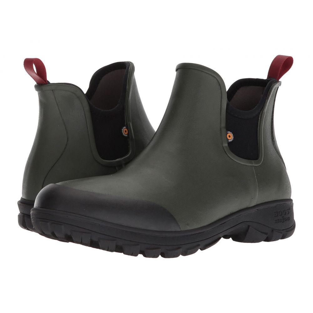 ボグス メンズ シューズ・靴 レインシューズ・長靴【Sauvie Slip-On Boot】Dark Green