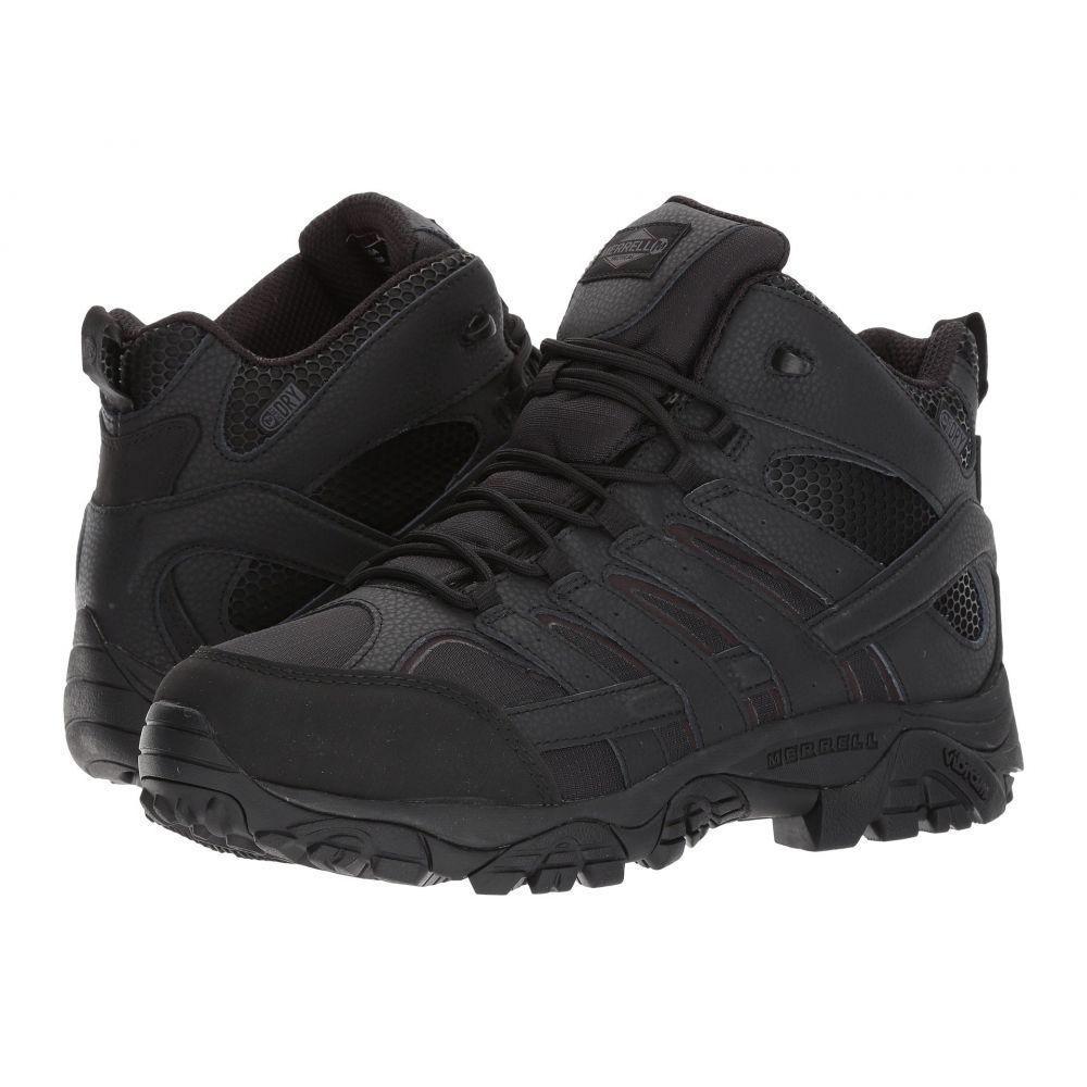 メレル メンズ ハイキング・登山 シューズ・靴【Moab 2 Mid Tactical Waterproof】Black