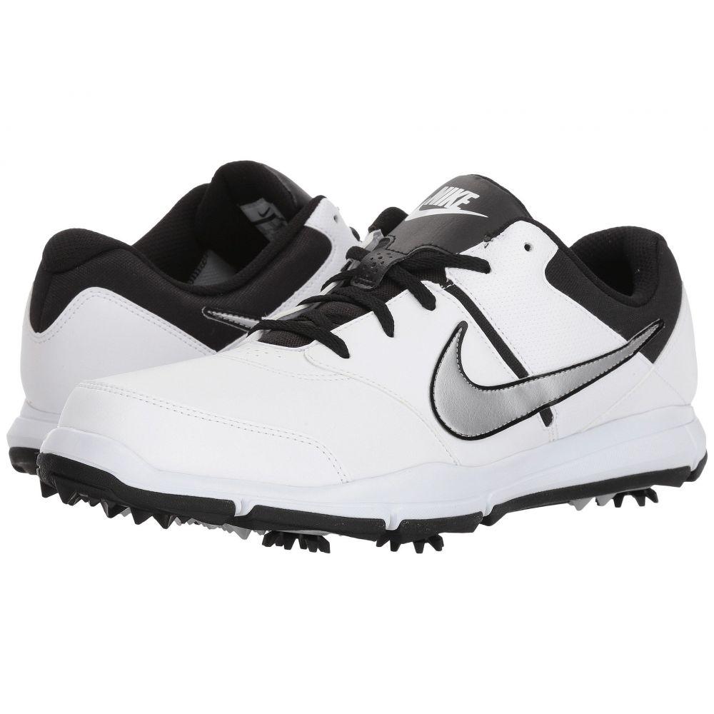 ナイキ メンズ ゴルフ シューズ・靴【Durasport 4】White/Metallic Silver/Black
