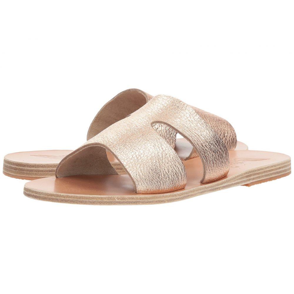 エンシェント グリーク サンダルズ レディース シューズ・靴 サンダル・ミュール【Apteros】Pink Metal/Sand Metallic Crosta