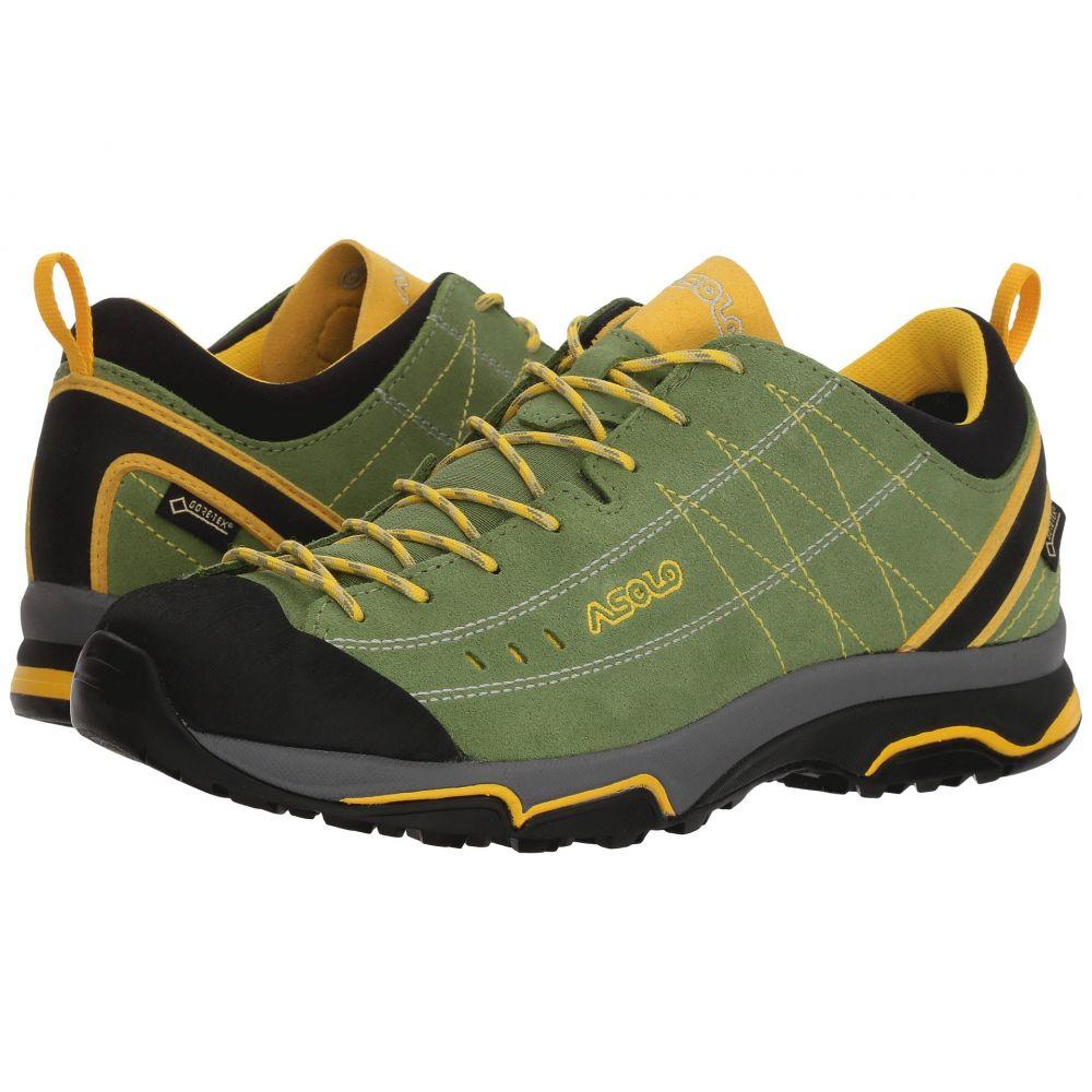 アゾロ レディース ハイキング・登山 シューズ・靴【Nucleon GV】English Ivy/Yellow