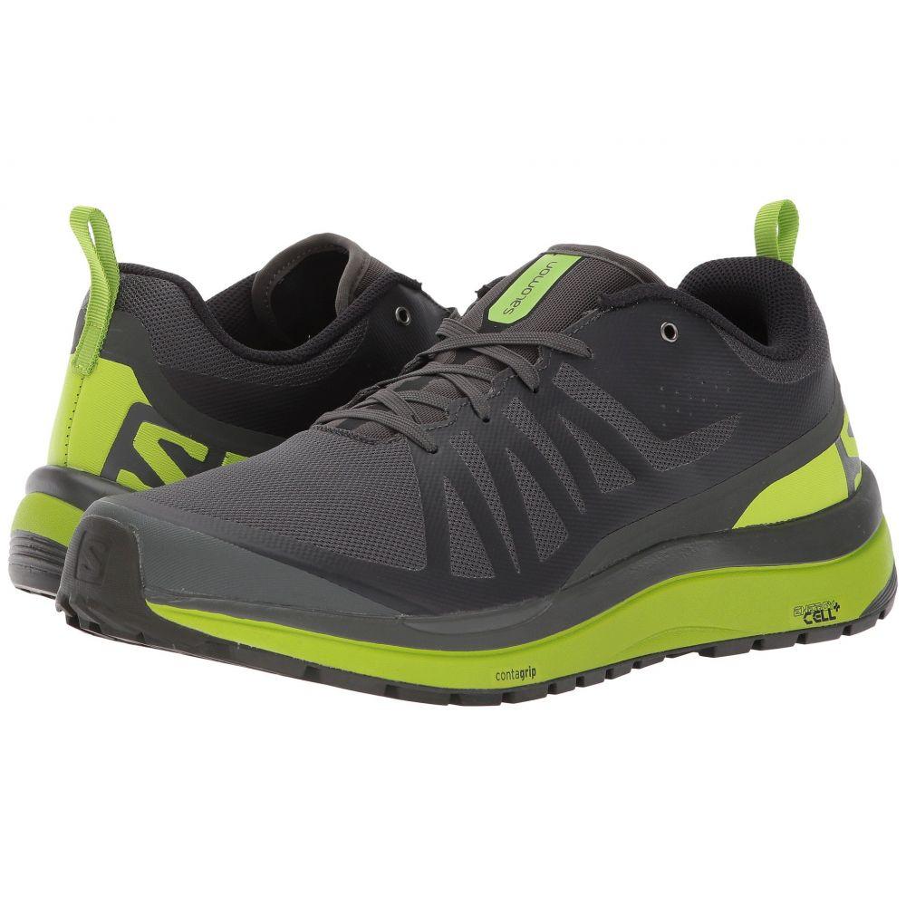 サロモン メンズ ハイキング・登山 シューズ・靴【Odyssey Pro】Beluga/Lime Green/Black