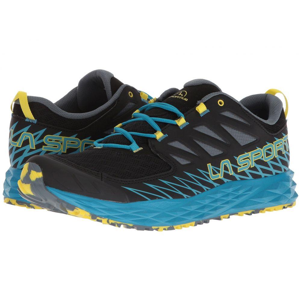 ラスポルティバ メンズ ランニング・ウォーキング シューズ・靴【Lycan】Black/Tropic Blue