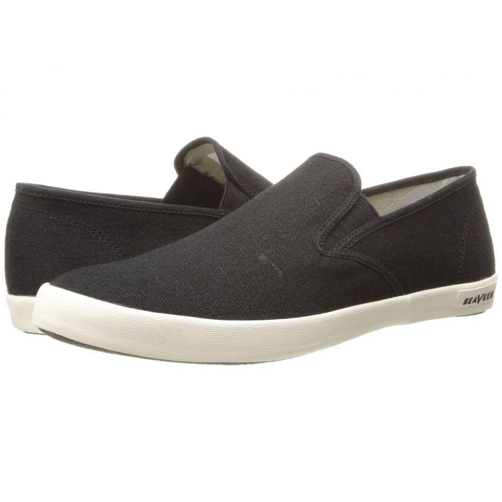 シービーズ メンズ シューズ・靴 スリッポン・フラット【02/64 Baja Slip-on Standard】Black