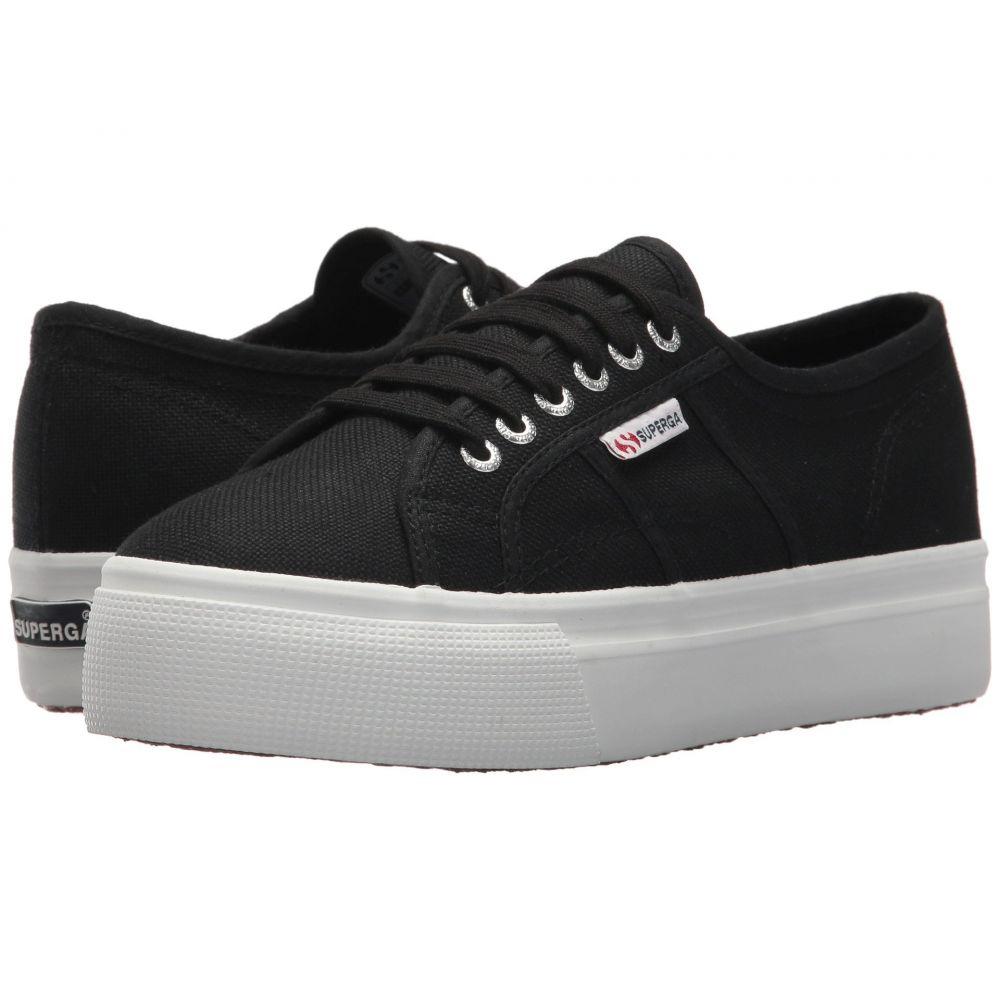 スペルガ レディース シューズ・靴 スニーカー【2790 Acotw Platform Sneaker】Black/White