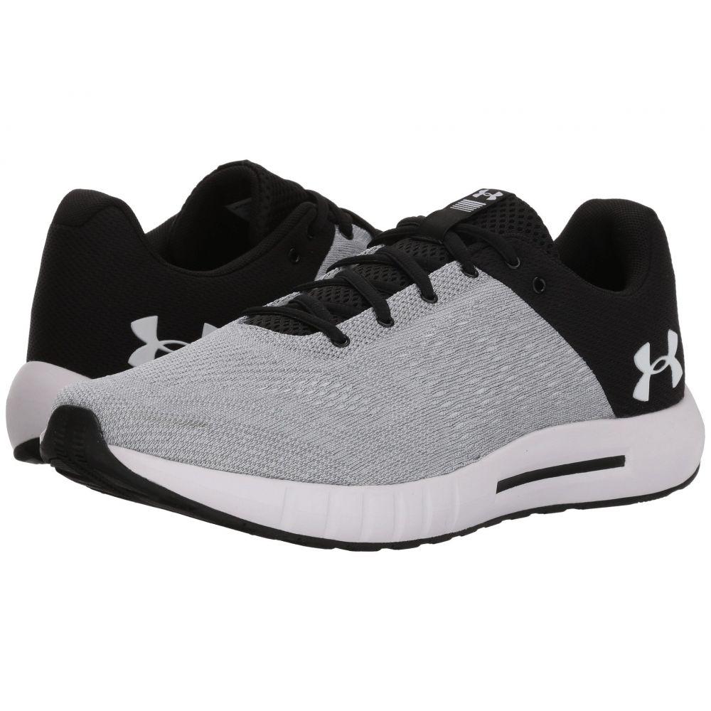アンダーアーマー メンズ ランニング・ウォーキング シューズ・靴【UA Micro G Pursuit】Black/White/White