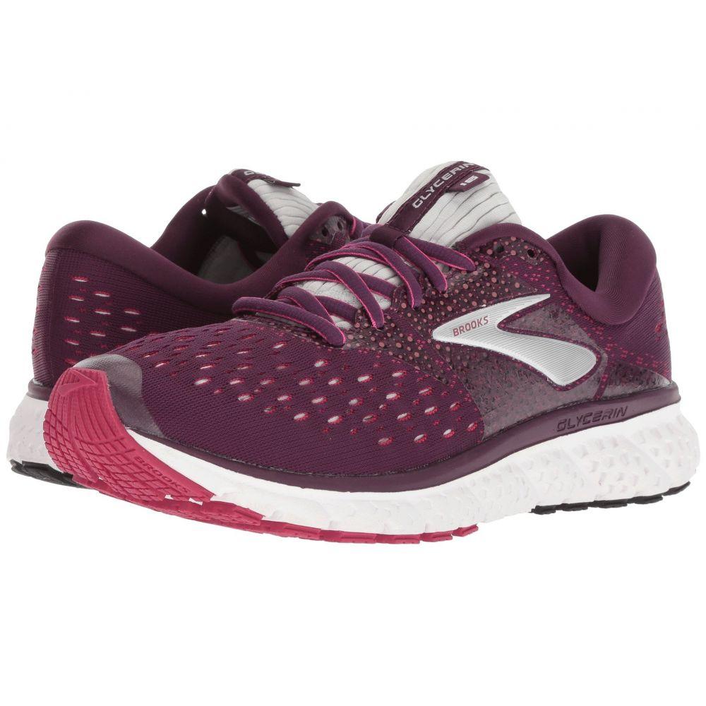 ブルックス レディース ランニング・ウォーキング シューズ・靴【Glycerin 16】Purple/Pink/Grey
