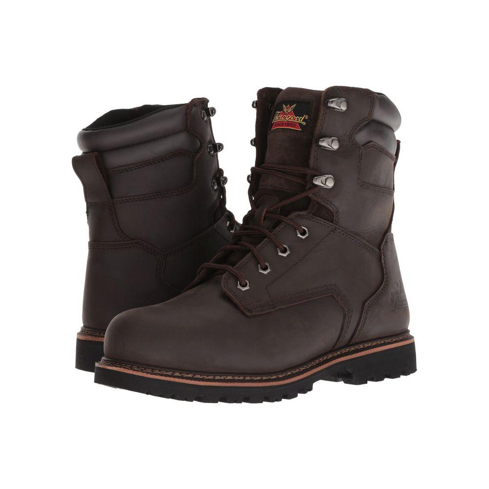 ソログッド メンズ シューズ・靴 ブーツ【V-Series Work Boot 8 Steel Toe】Brown