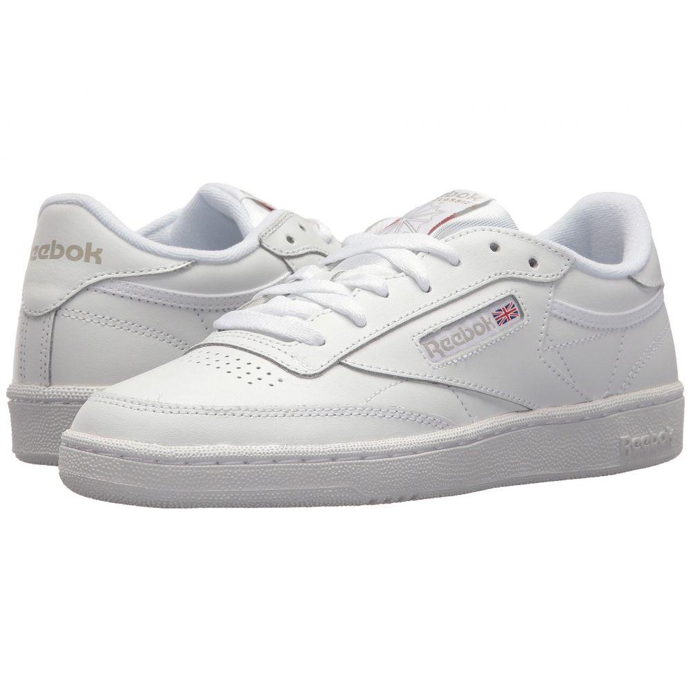 リーボック レディース テニス シューズ・靴【Club C 85】White/Light Grey