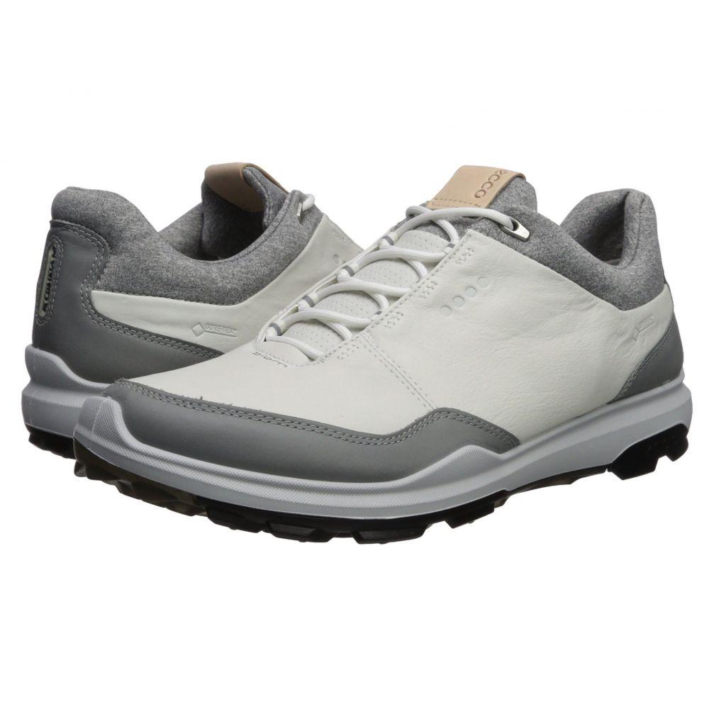 エコー メンズ ゴルフ シューズ・靴【Biom Hybrid 3 GTX】White/Black