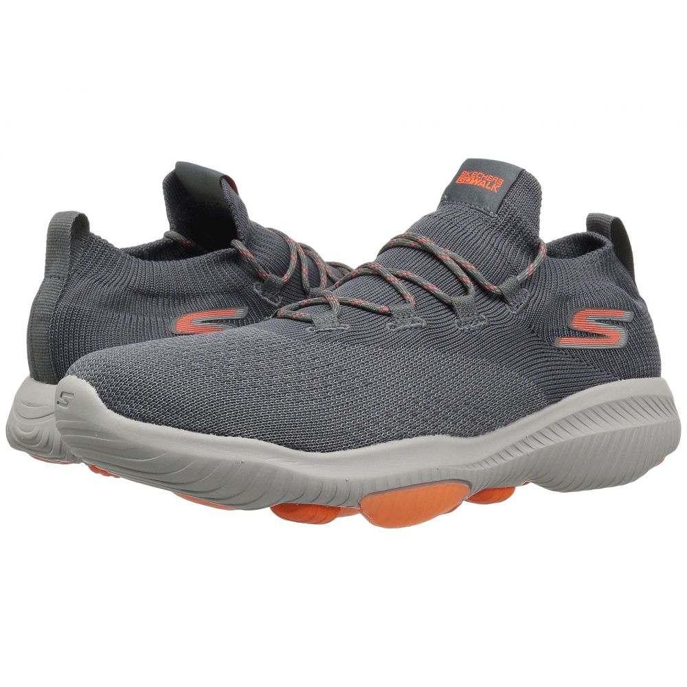 スケッチャーズ メンズ シューズ・靴 スニーカー【Go Walk Revolution Ultra】Charcoal/Orange