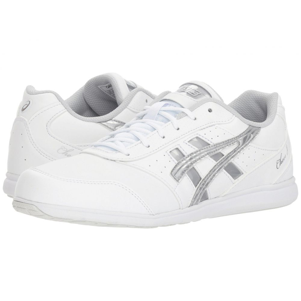 アシックス レディース シューズ・靴 スニーカー【Cheer 8】White/Silver/Exchange
