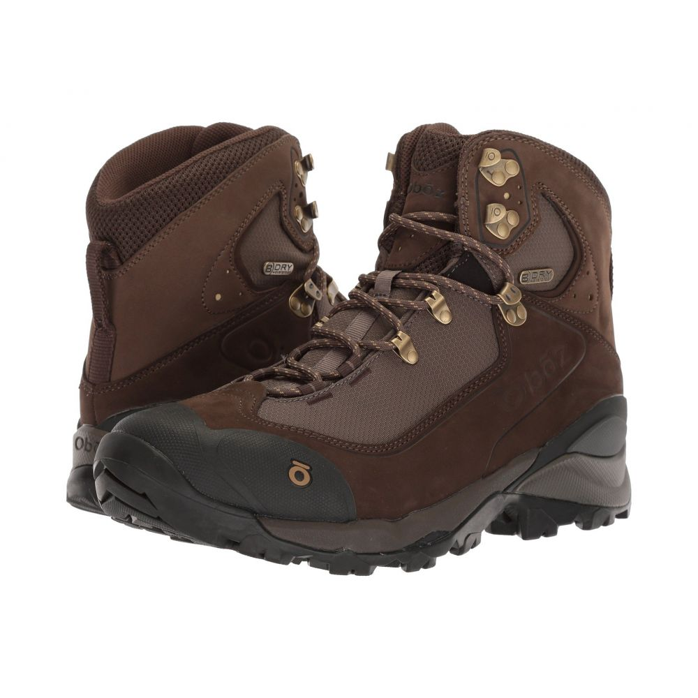 オボズ メンズ ハイキング・登山 シューズ・靴【Wind River III】Bark Brown