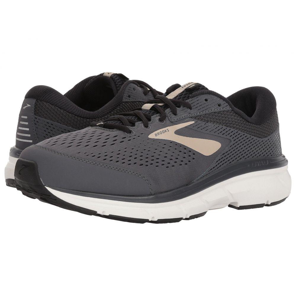 ブルックス メンズ ランニング・ウォーキング シューズ・靴【Dyad 10】Grey/Black/Tan