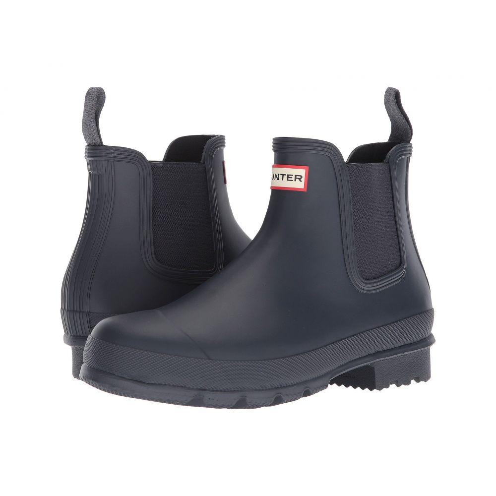 ハンター メンズ シューズ・靴 レインシューズ・長靴【Original Chelsea Boot】Navy