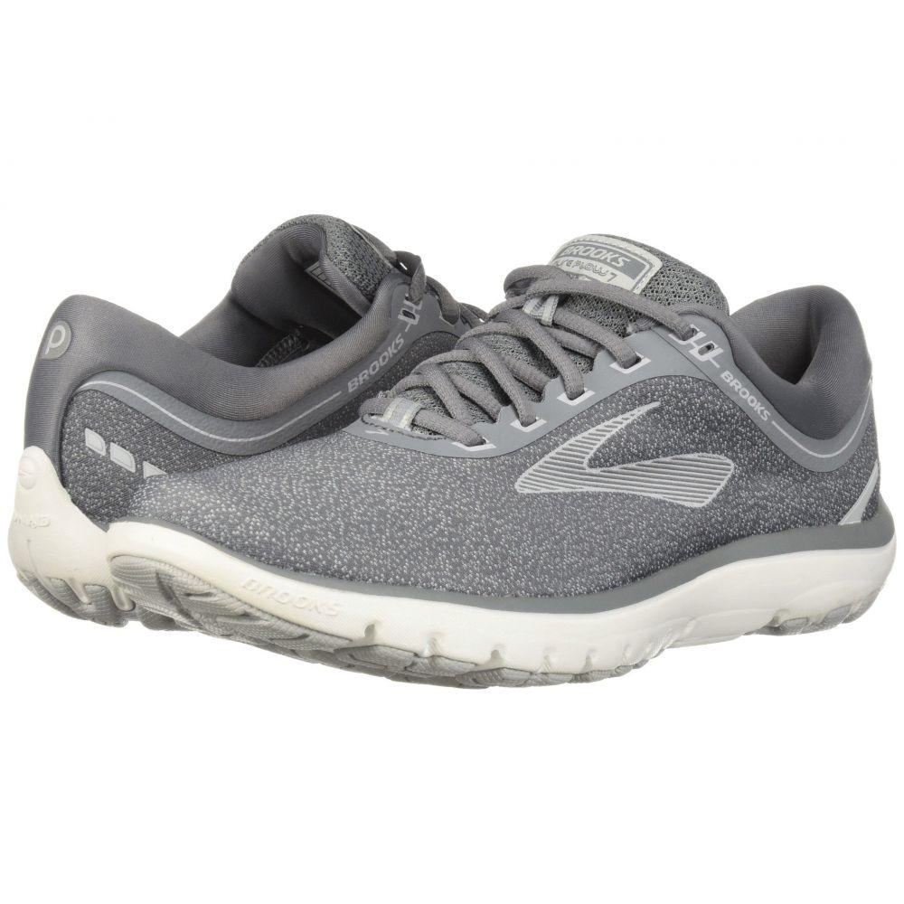 ブルックス レディース ランニング・ウォーキング シューズ・靴【PureFlow 7】Grey/Microchip/White
