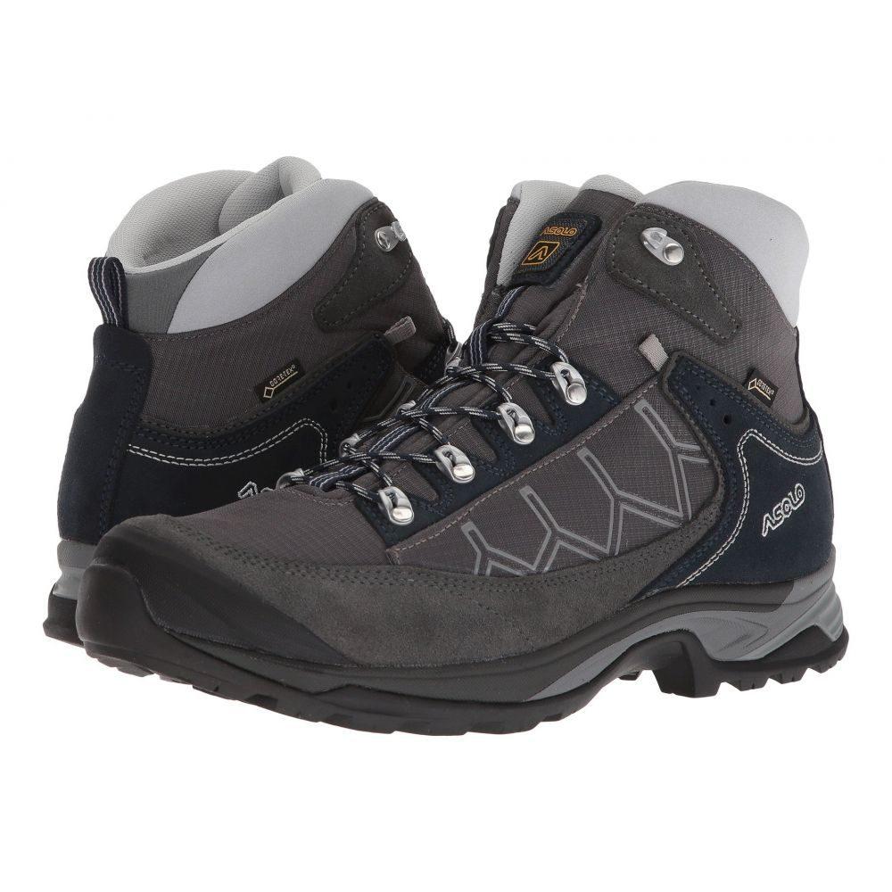 アゾロ メンズ ハイキング・登山 シューズ・靴【Falcon GV MM】Graphite/Graphite/Blueberry