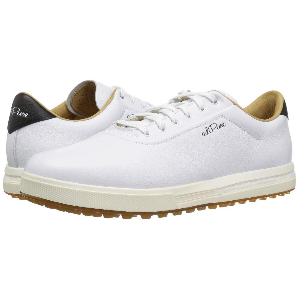 アディダス メンズ ゴルフ シューズ・靴【Adipure SP】Footwear White/Footwear White/Grey Two