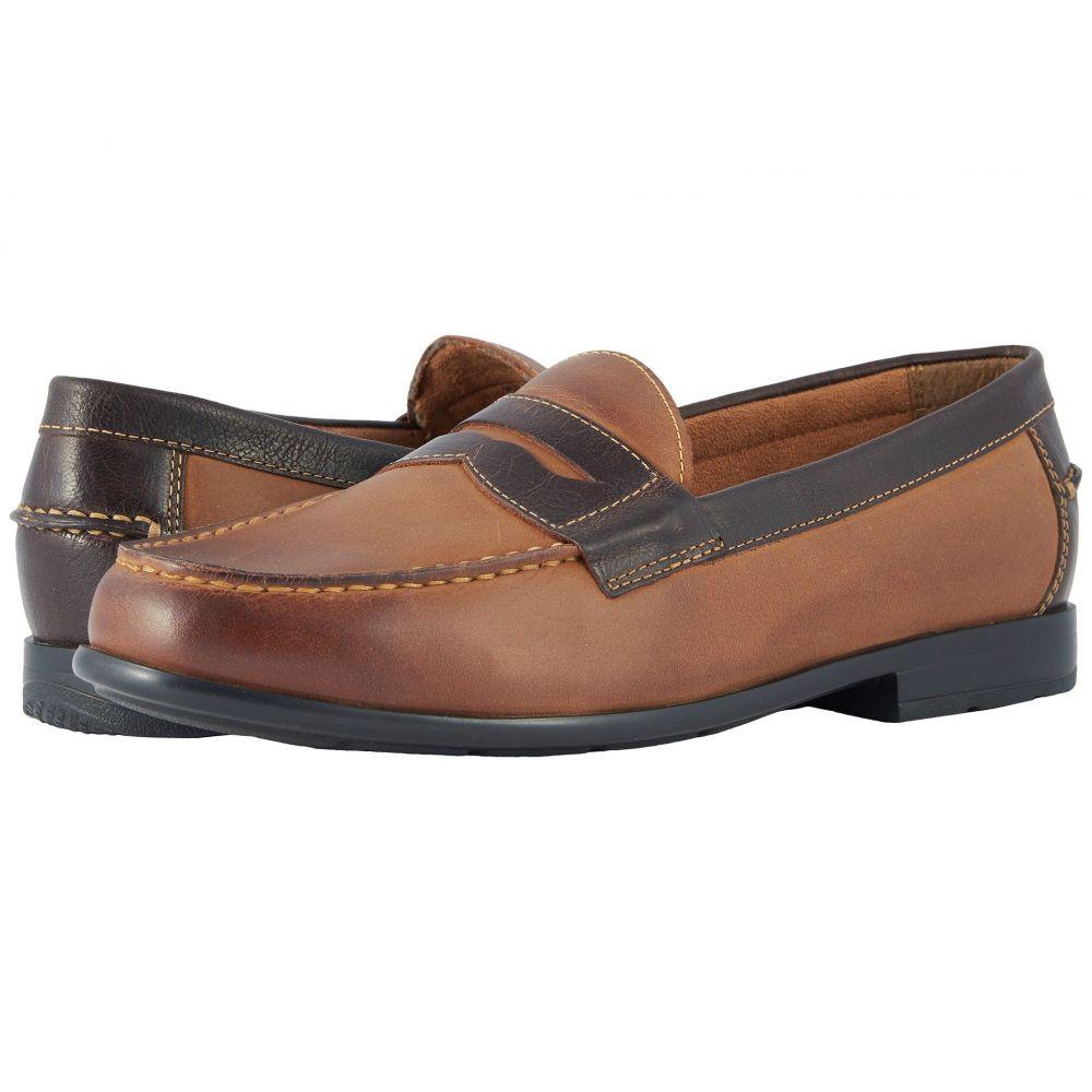 ナンブッシュ メンズ シューズ・靴 ローファー【Drexel Moc Toe Penny Loafer with KORE Walking Comfort Technology】Brown/Scotch