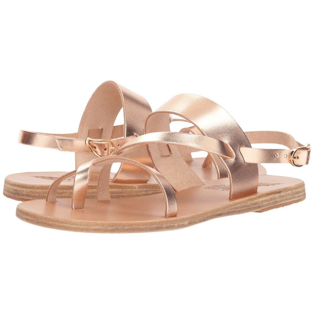 エンシェント グリーク サンダルズ レディース シューズ・靴 サンダル・ミュール【Alethea】Pink Metal Vachetta