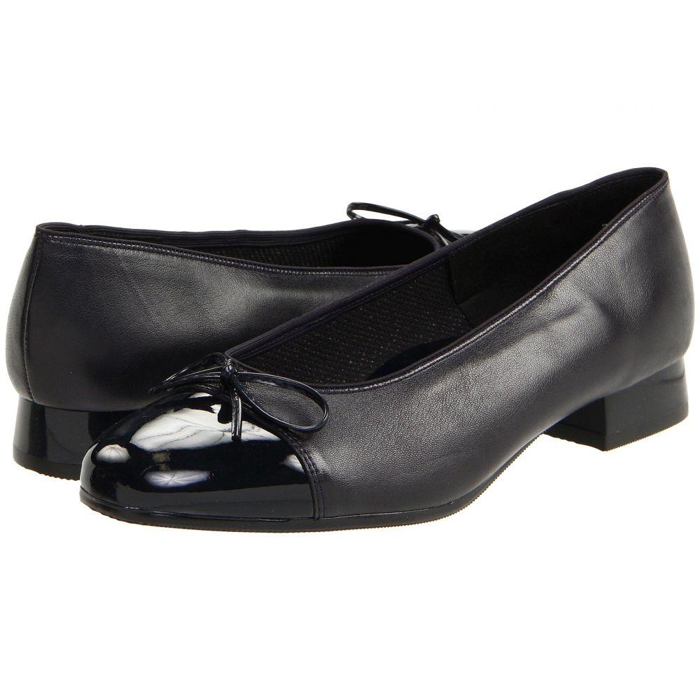 アラ レディース シューズ・靴 ローファー・オックスフォード【Bel】Navy Leather w/Patent Tip