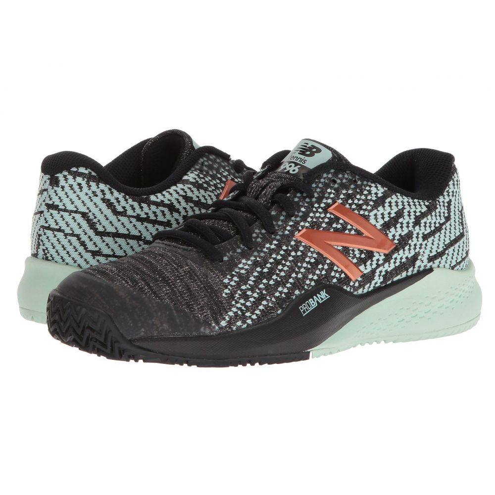 ニューバランス レディース テニス シューズ・靴【WCY996v3】Black/Seafoam