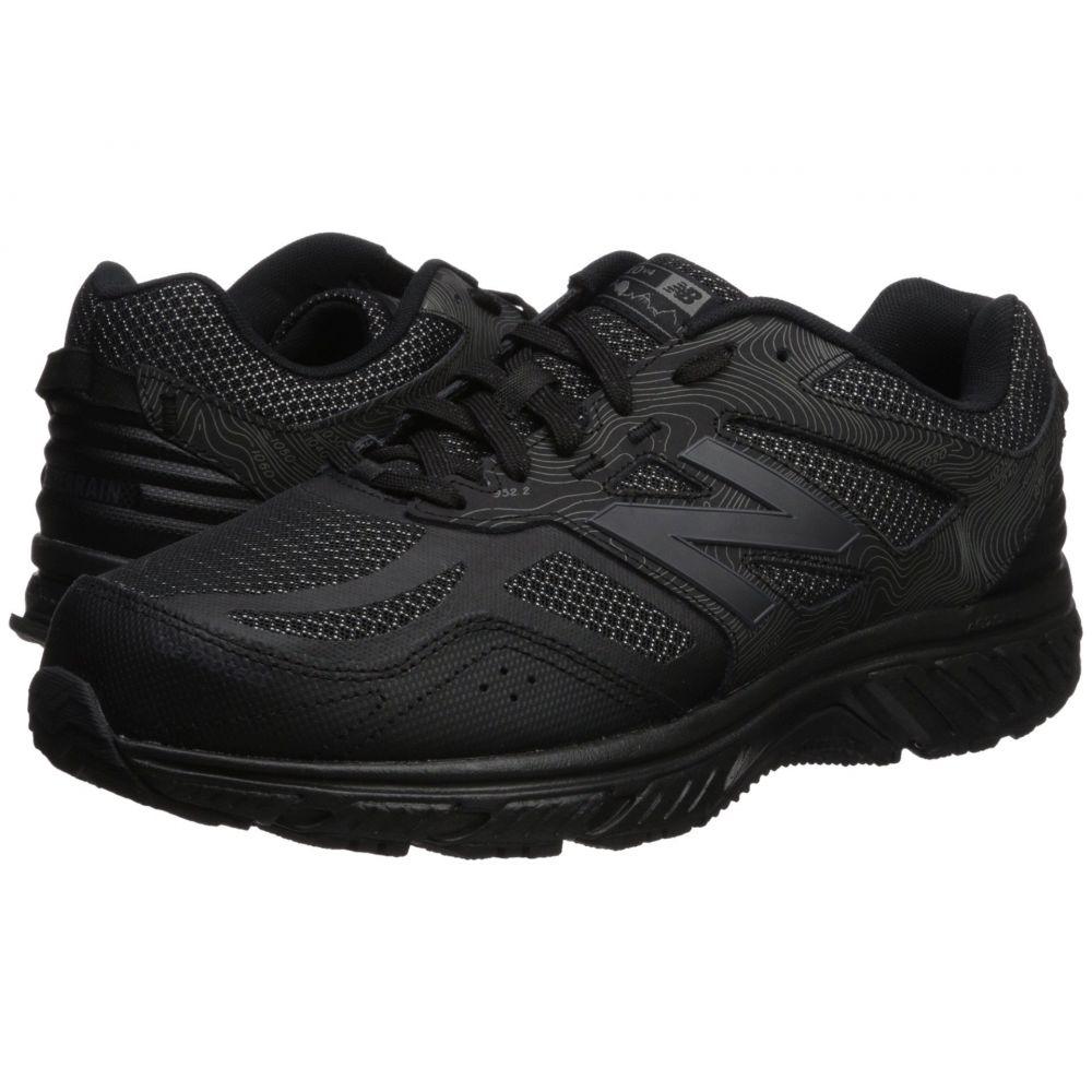 ニューバランス メンズ ランニング・ウォーキング シューズ・靴【510v4】Black/Magnet