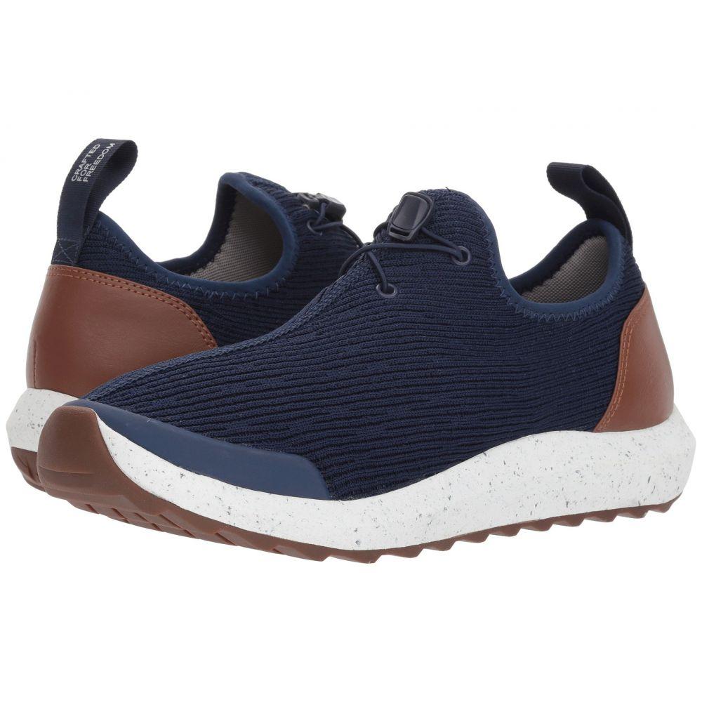 フリーウォータース メンズ シューズ・靴 スニーカー【Freeland】Navy