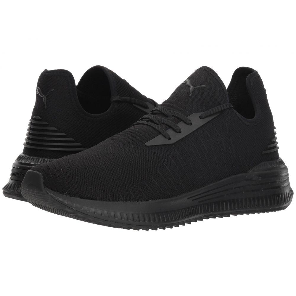 プーマ メンズ ランニング・ウォーキング シューズ・靴【Avid evoKNIT】Puma Black/Puma Black