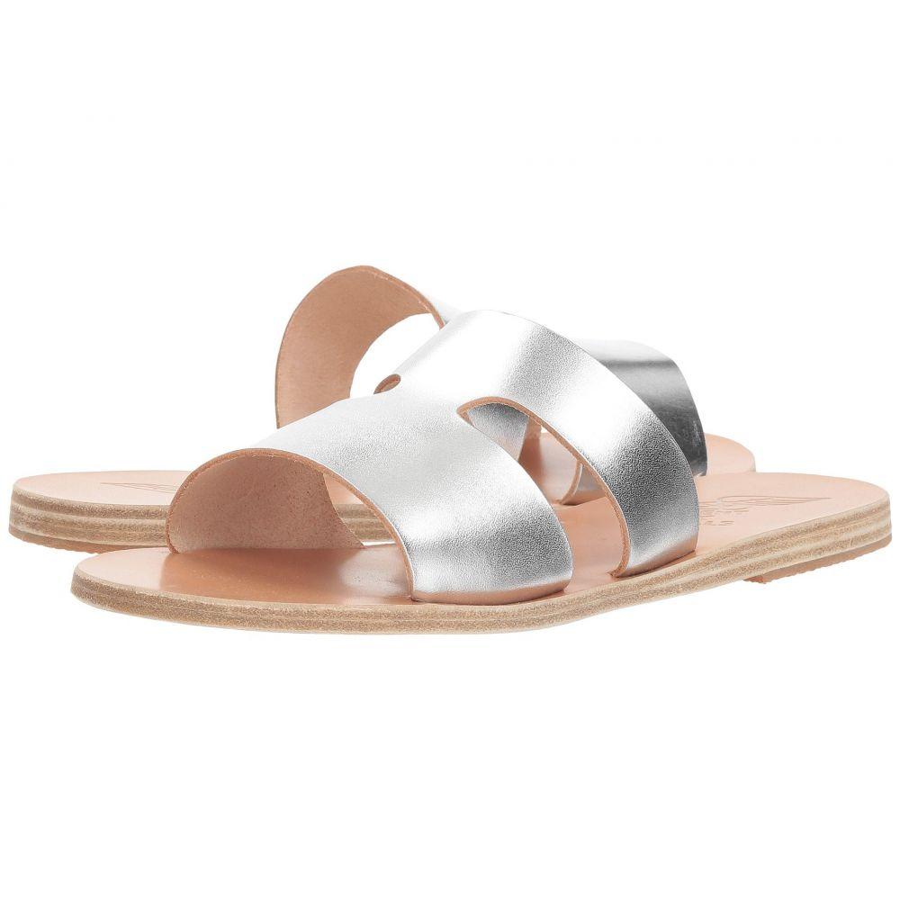 サンダル・ミュール【Apteros】Silver Vachetta エンシェント グリーク シューズ・靴 レディース サンダルズ