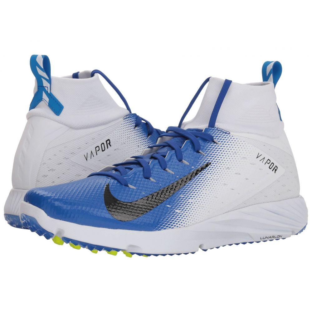 ナイキ メンズ アメリカンフットボール シューズ・靴【Vapor Speed Turf 2】White/Black/Game Royal/Photo Blue