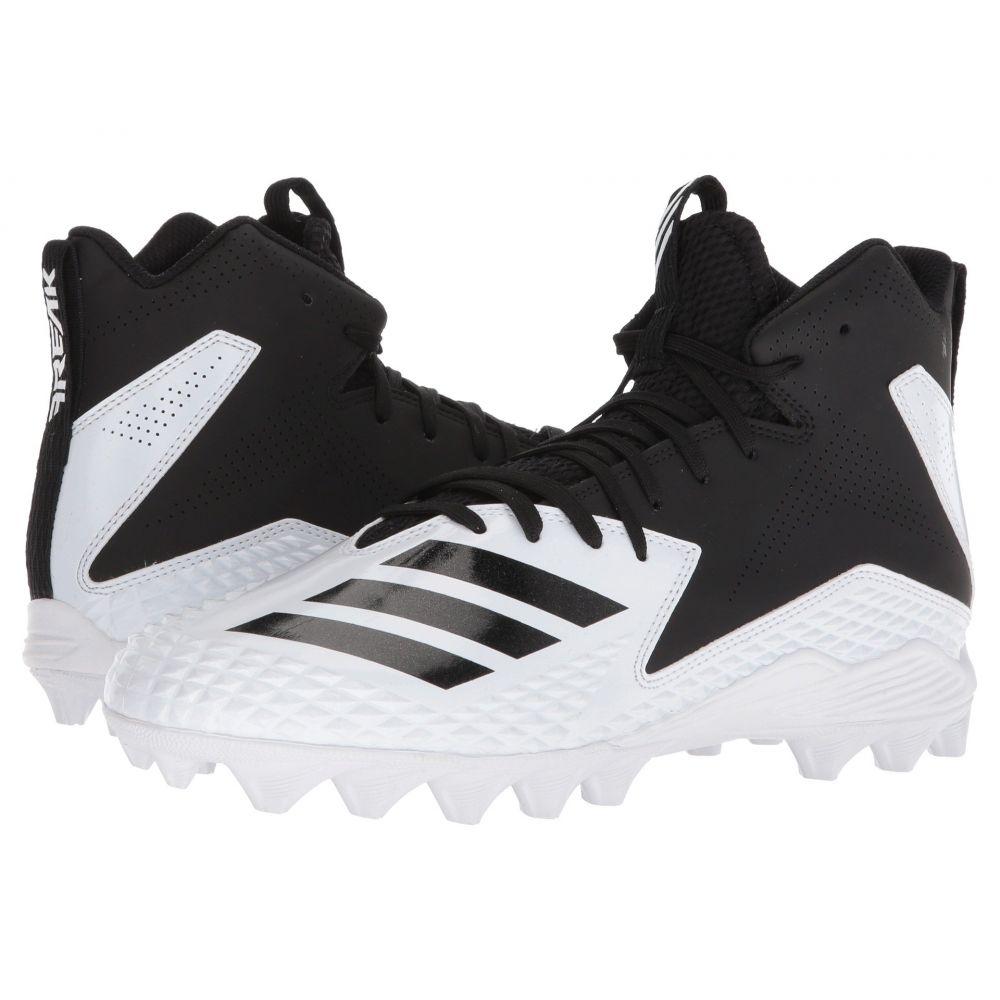 アディダス メンズ アメリカンフットボール シューズ・靴【Freak Mid MD】Footwear White/Core Black/Core Black