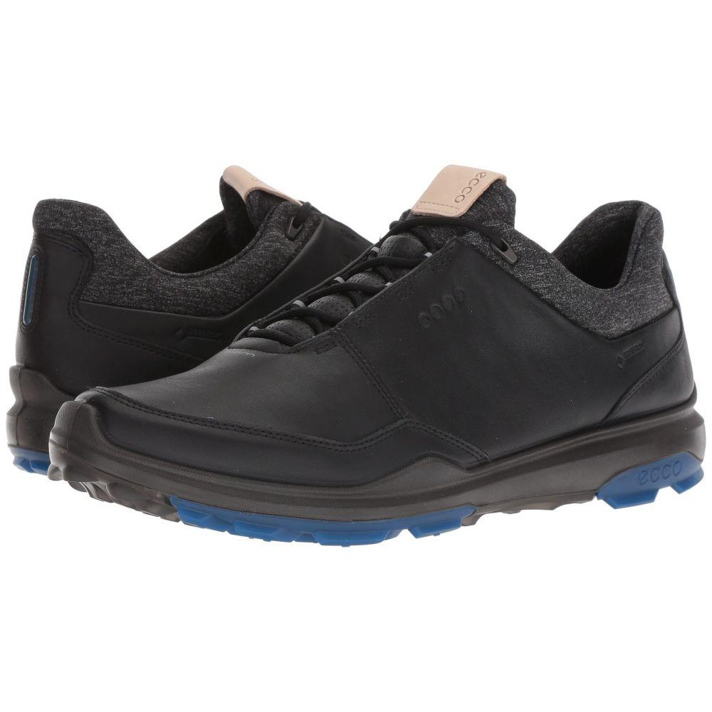 エコー メンズ ゴルフ シューズ・靴【Biom Hybrid 3 GTX】Black/Bermuda Blue