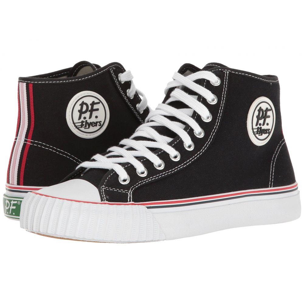 ピーエフフライヤー メンズ シューズ・靴 スニーカー【Center Hi】White/Black