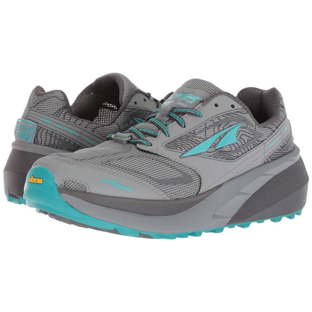 アルトラ レディース ランニング・ウォーキング シューズ・靴【Olympus 3】Gray/Teal