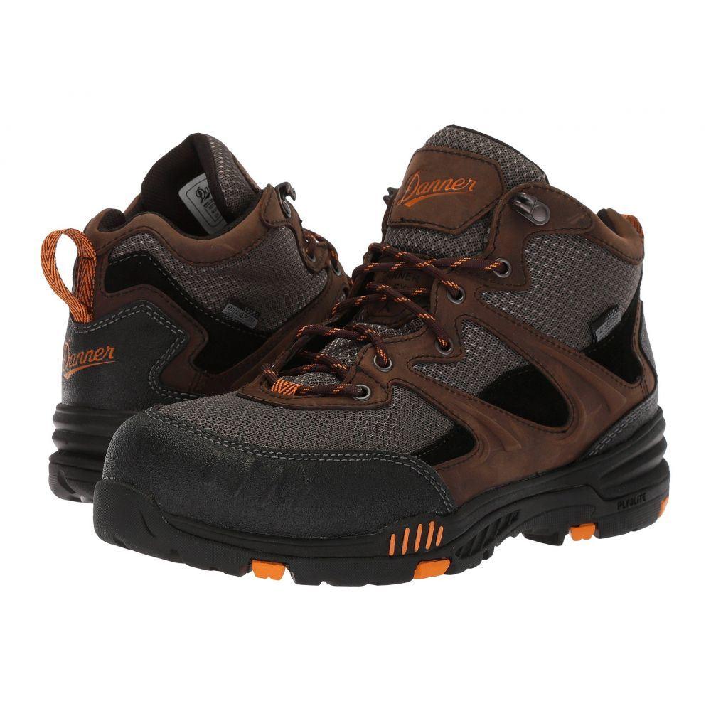 ダナー メンズ ハイキング・登山 シューズ・靴【Springfield Non-Metallic Safety Toe】Brown/Orange