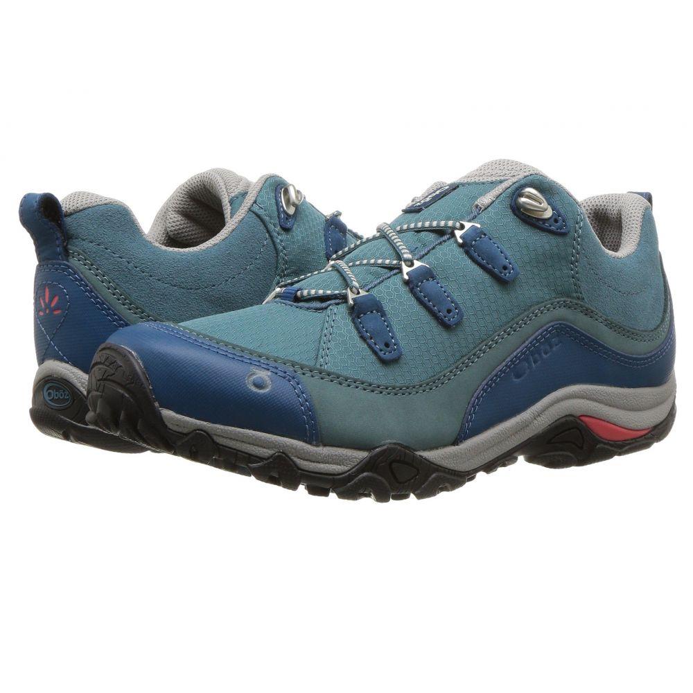オボズ レディース ハイキング・登山 シューズ・靴【Juniper Low】Hydro/Cayenne