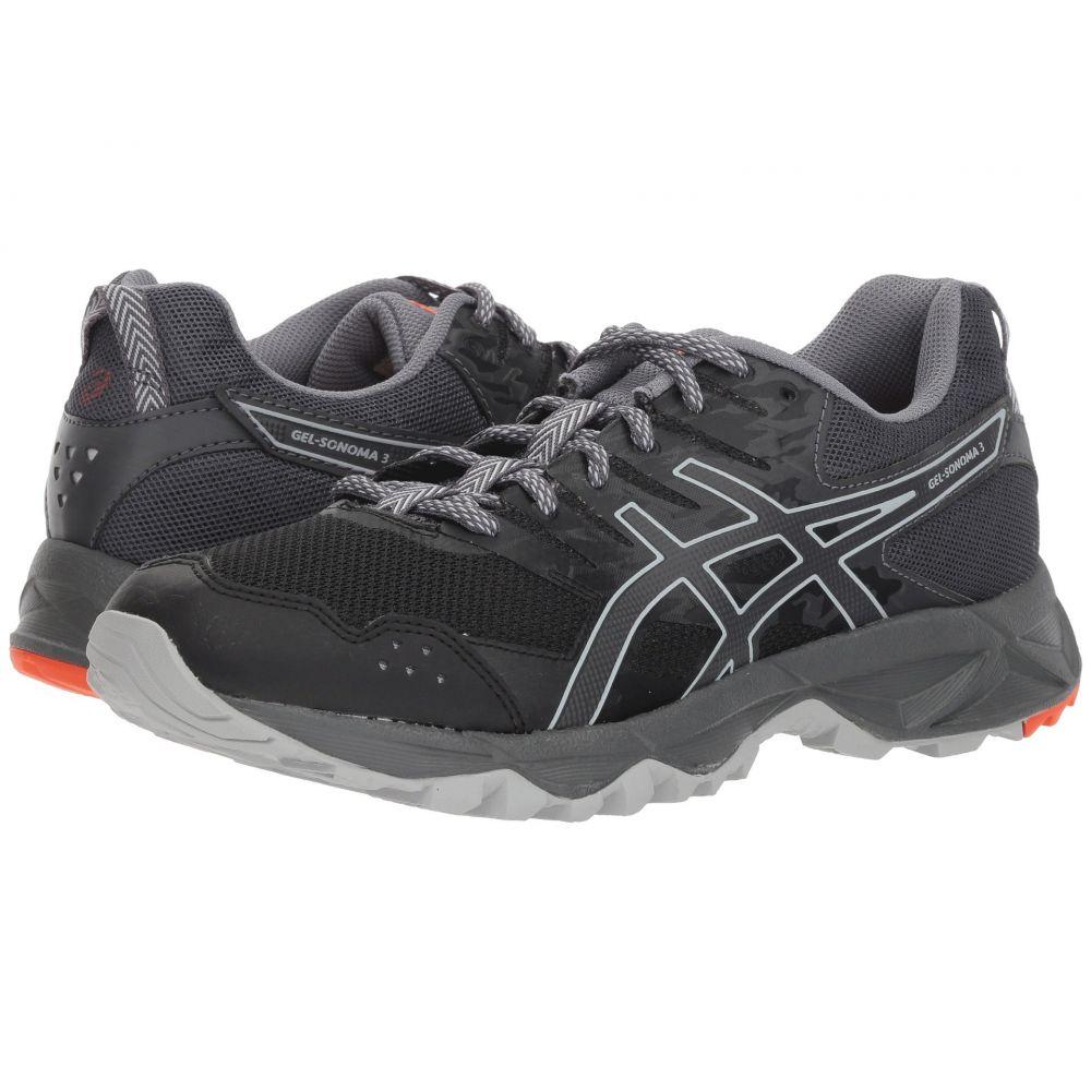 アシックス レディース ランニング・ウォーキング シューズ・靴【GEL-Sonoma 3】Black/Dark Grey
