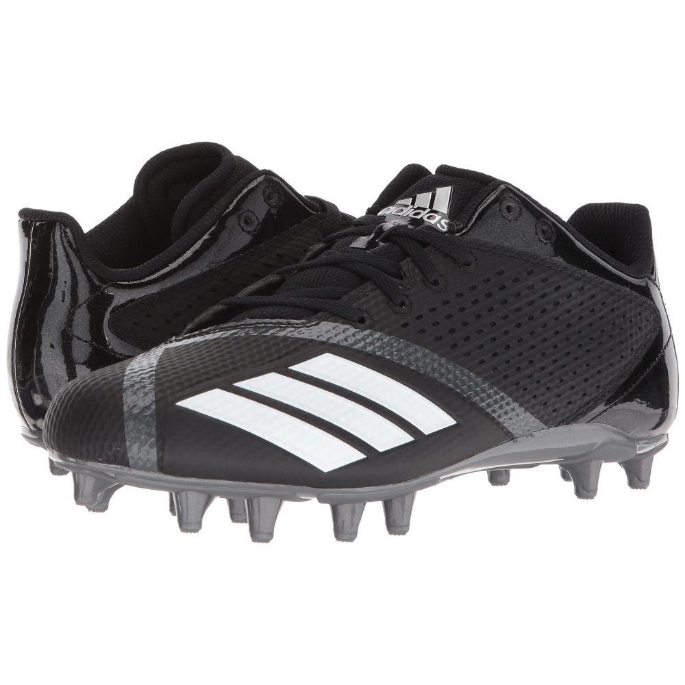 アディダス メンズ アメリカンフットボール シューズ・靴【5-Star】Core Black/Footwear White/Night Metallic F13