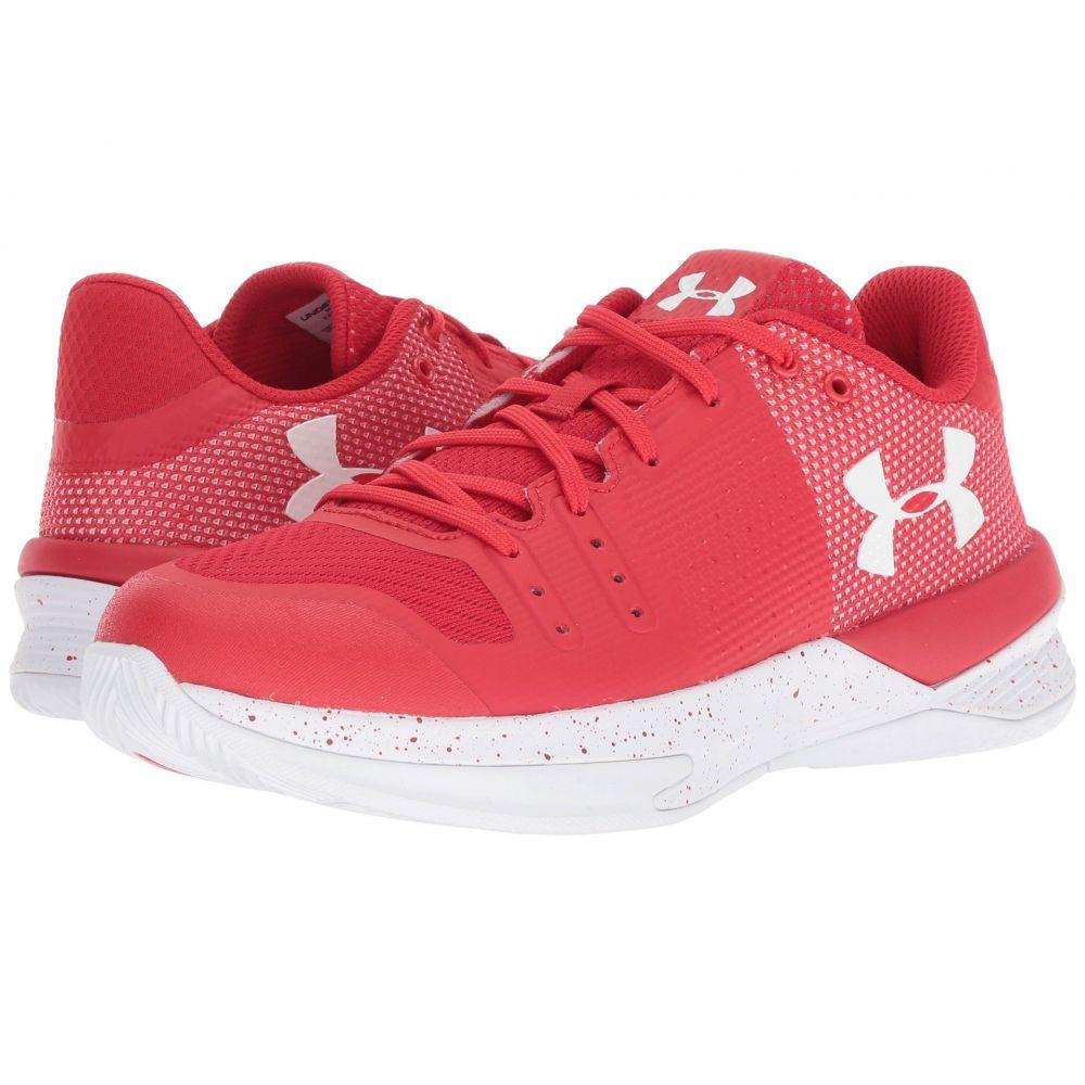 アンダーアーマー レディース バレーボール シューズ・靴【UA Block City】Red/White/White