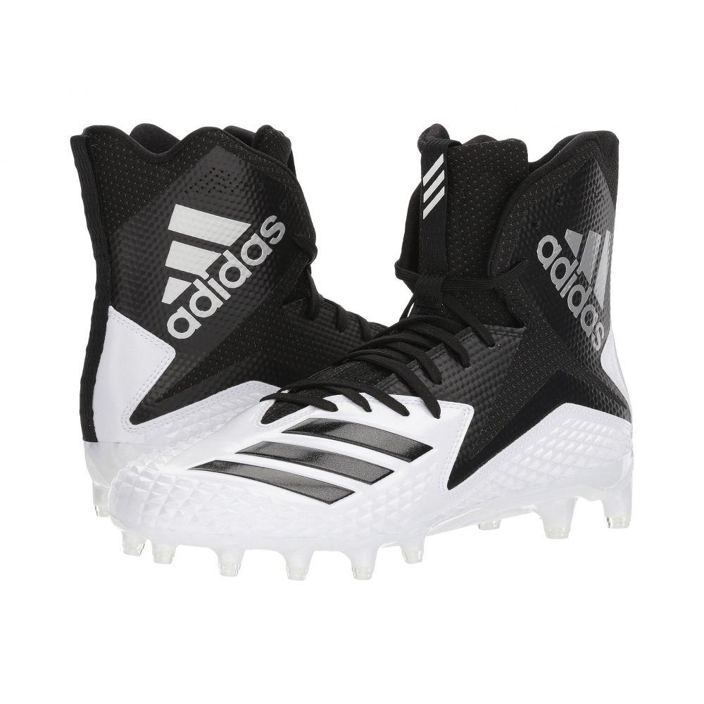 アディダス メンズ アメリカンフットボール シューズ・靴【Freak x Carbon High】Footwear White/Core Black/Core Black