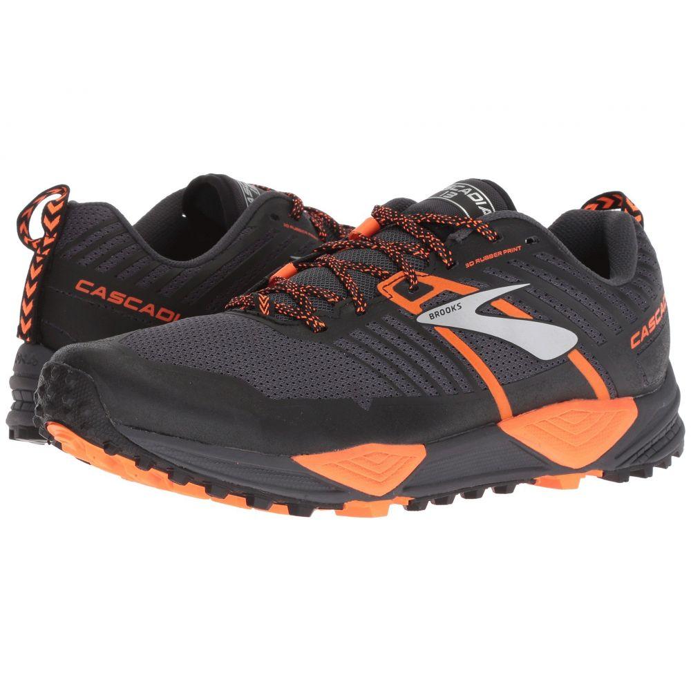 ブルックス メンズ ランニング・ウォーキング シューズ・靴【Cascadia 13】Grey/Black/Orange