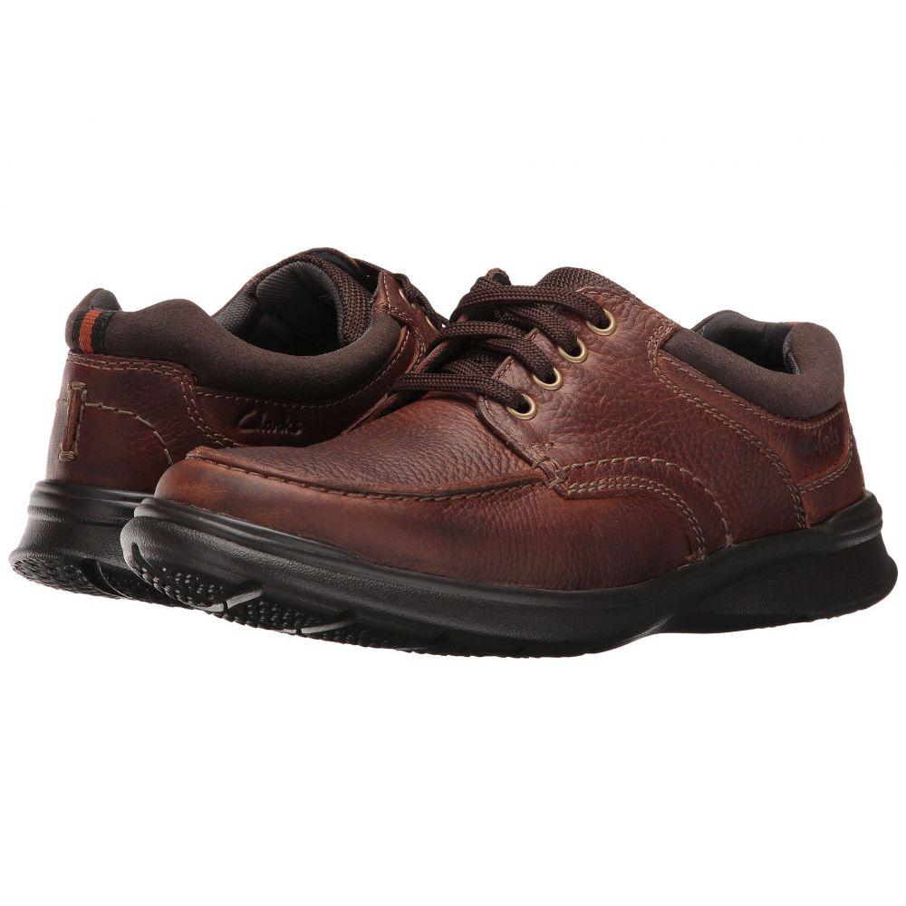 クラークス メンズ シューズ・靴 スニーカー【Cotrell Edge】Tobacco Oily Leather