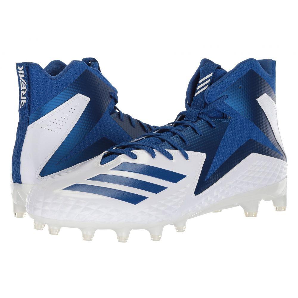 アディダス メンズ アメリカンフットボール シューズ・靴【Freak x Carbon Mid】Footwear White/Collegiate Royal/Collegiate Royal