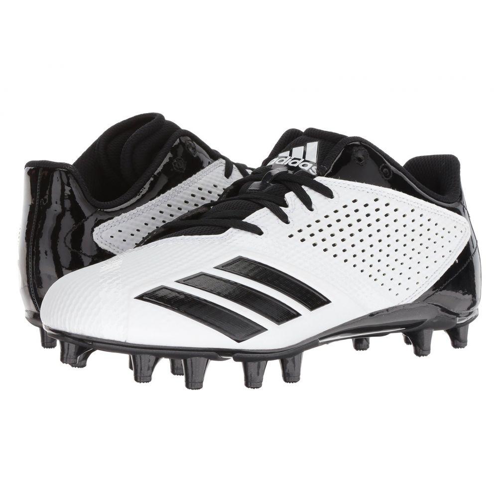 アディダス メンズ アメリカンフットボール シューズ・靴【5-Star】Footwear White/Core Black/Core Black