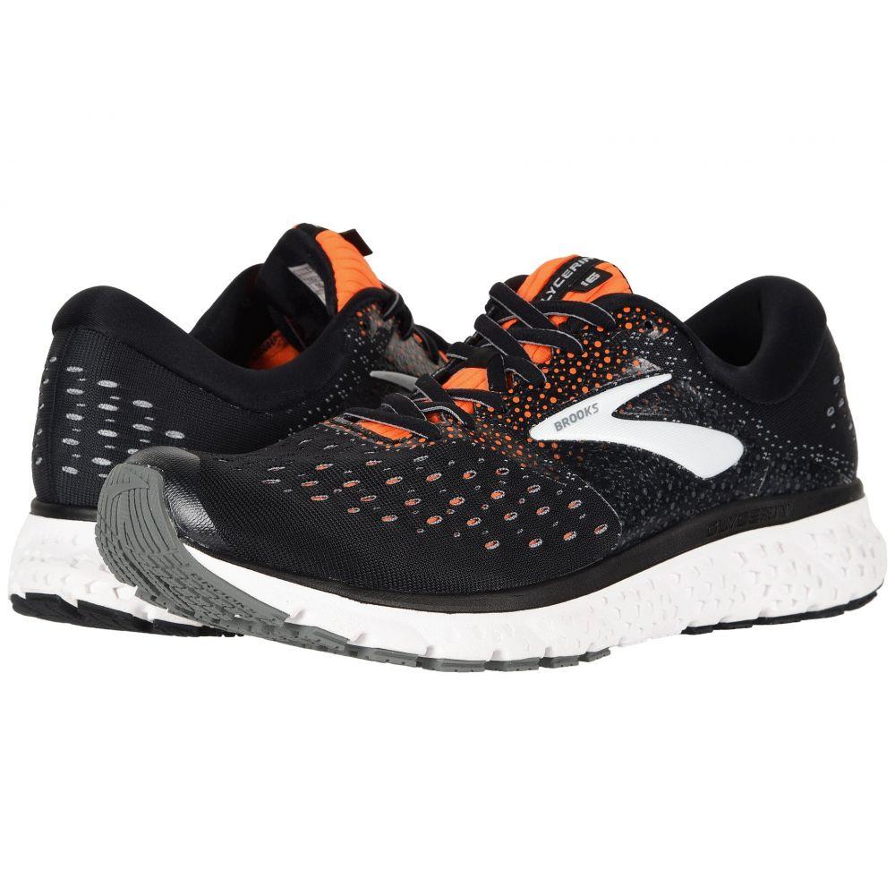 ブルックス メンズ ランニング・ウォーキング シューズ・靴【Glycerin 16】Black/Orange/Grey