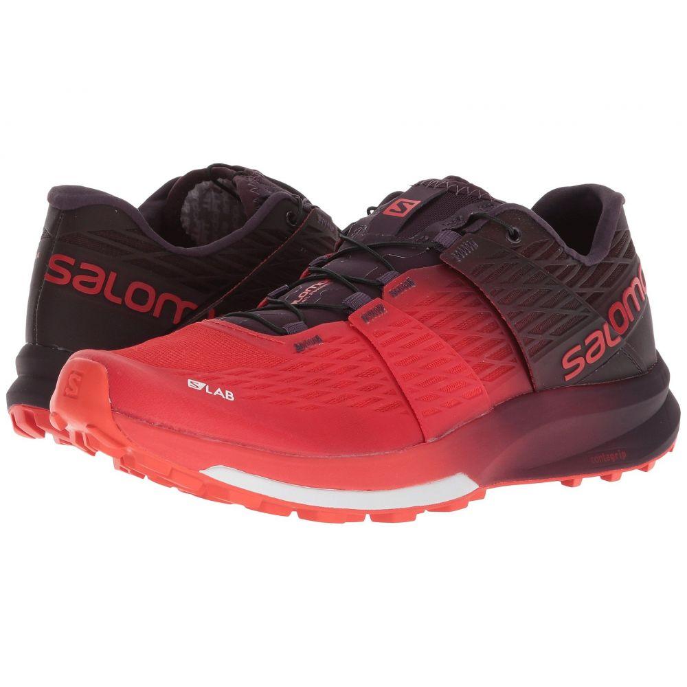 Ultra サロモン Red/Maverick/White レディース 2】Racing シューズ・靴【S-Lab ランニング・ウォーキング Sense